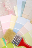 Color pastel design  selection Stock Images