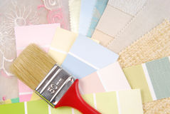 Color pastel design  selection Stock Image