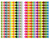 Color pattern. Color arch designed in illustrator Stock Image