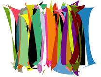 Color pattern. Color arch designed in illustrator Royalty Free Stock Images