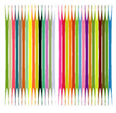 Color pattern. Color arch designed in illustrator Royalty Free Stock Image
