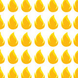 Color pattern with flame close up. Vector illustration Royalty Free Stock Photography
