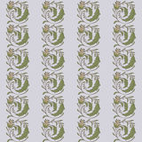 Color pattern floral curl. Old Stock Photo