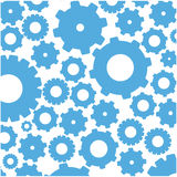 color pattern with gears and pinions Stock Image