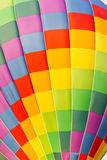 Color pattern of hot air balloon Stock Photo