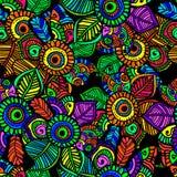 Color pattern mehendi Royalty Free Stock Photos