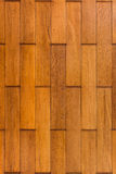 Color pattern of teak wood decorative surface Royalty Free Stock Photos