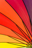 Color pattern of an umbrella Royalty Free Stock Images