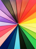 Color pattern of an umbrella background. Color pattern of an umbrella background Stock Photography