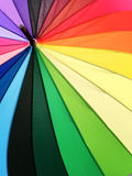 Color pattern of an umbrella background. Color pattern of an umbrella background Stock Photos