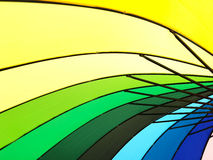 Color pattern of an umbrella background. Color pattern of an umbrella background Stock Images