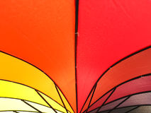 Color pattern of an umbrella background. Color pattern of an umbrella background Royalty Free Stock Images