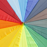 Color pattern of an umbrella background Royalty Free Stock Photography