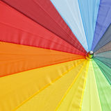 Color pattern of an umbrella background Stock Images