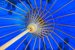 Color pattern of an umbrella Stock Photography