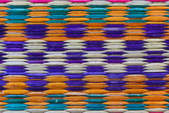 Color patterned mats Royalty Free Stock Images