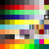 Color patterns Royalty Free Stock Photography