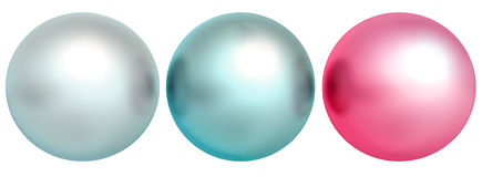 Color pearls Stock Photography