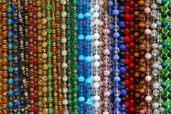 Color pearls Stock Images