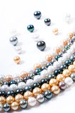 Color pearls Royalty Free Stock Photography