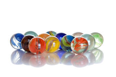 Color pearls isolated Royalty Free Stock Photo