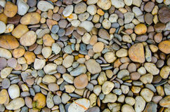Color pebble stone Royalty Free Stock Images