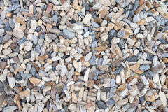 Color pebble stone in background Royalty Free Stock Photography