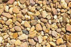 Color Pebble stones texture Royalty Free Stock Photo