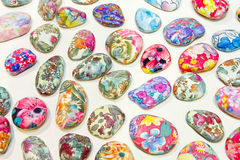 Color pebbles Stock Image