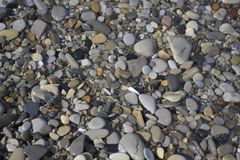 Color pebbles Royalty Free Stock Images