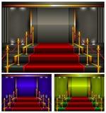 Color pedestal Stock Images