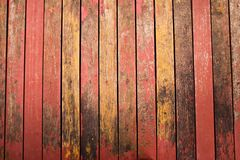Color peel wood texture Royalty Free Stock Photos