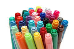 Color Pen 1 Stock Photography