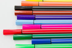 Color pen Royalty Free Stock Photography