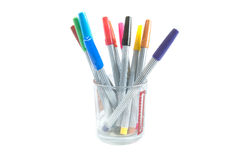 Color pen Stock Photography
