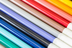 Color pen. Colored Markers Royalty Free Stock Photo