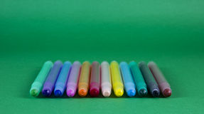 COLOR PEN SET Stock Image