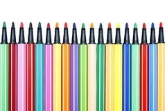 Color pen set : Array Royalty Free Stock Image