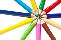 Color pencil Royalty Free Stock Images