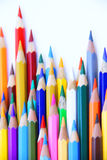 Color pencil 2. Coloring pencils life. highly colored Royalty Free Stock Image