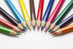 Color pencil. A close-up of colored pencils Royalty Free Stock Image
