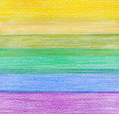Color pencil background. Abstract color pencil textured background Stock Image