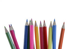 Color Pencil. Close up of color pencils with different color Royalty Free Stock Images