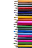 Color Pencil. Close up of color pencils with different color Stock Images