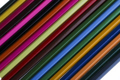 Color Pencil. Close up of color pencils with different color Stock Photos