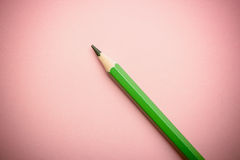 Color pencil on colored background Stock Photo