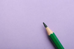Color pencil on colored background Stock Images