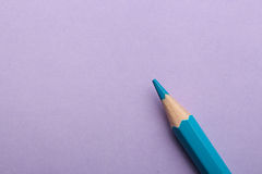 Color pencil on colored background Royalty Free Stock Photography