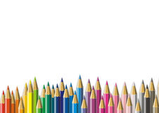 Color Pencil. Colorful Color Pencil illustrations background Stock Images
