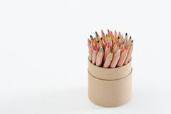 Color Pencil In Cup Royalty Free Stock Photos